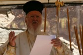 Patriarch Bartholomew prays for end to bloodshed at Sümela service