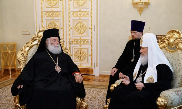 Fraternal conversation between Patriarch Kirill and the Primate of the Orthodox Church of Alexandria