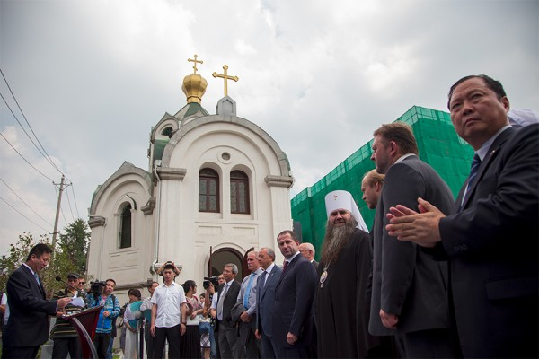Restoration completed at the Church of St Alexander Nevsky in Wuhan, China