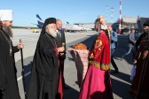 Primate of Orthodox Church of Alexandria arrives in Russia