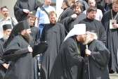 Russian Orthodox Church delegation arrives on Mount Athos for commemoration of St. Panteleimon