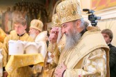 Metropolitan Onufry of Kiev and all Ukraine's enthronement anniversary celebrated in Kiev