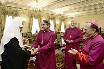 His Holiness Patriarch Kirill receives delegation of Anglican Church in North America