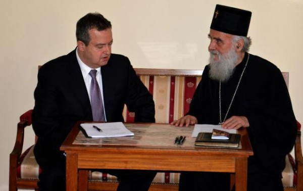 Dacic, Patriarch Irinej Discuss Kosovo's UNESCO Application
