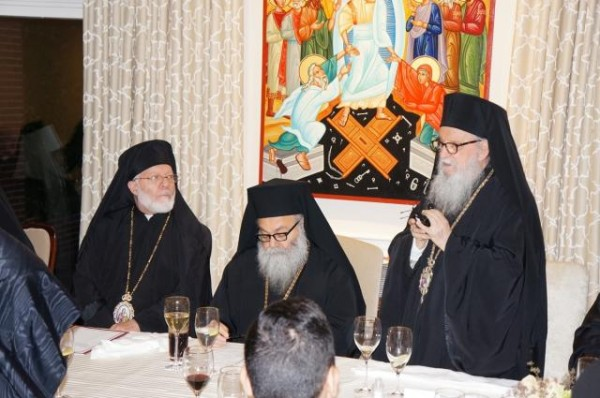 His Eminence Metropolitan Joseph Hosts Dinner in Honor of His Beatitude Patriarch John X