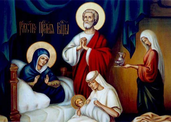 The Blessed Offense and the Nativity of the Theotokos