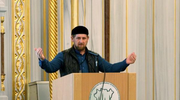 Chechen Republic leader Ramzan Kadyrov. © Said Tsarnaev / RIA Novosti