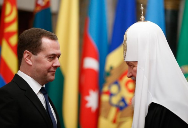 His Holiness Patriarch Kirill sends greetings to Russian Prime Minister on the occasion of his 50th birthday
