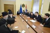 Serbian Prime Minister and Patriarch Irinej discuss balance between politics, economy