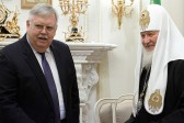 Patriarch Kirill meets with US Ambassador to Russia