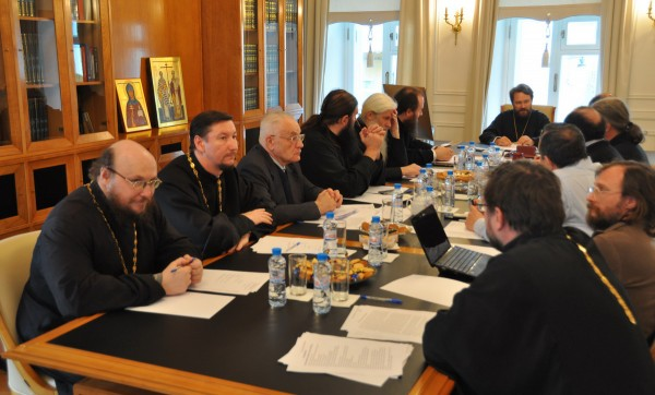 Inter-Council presence commission on theology holds its regular session