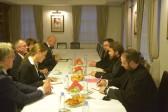 Metropolitan Hilarion of Volokolamsk meets with Vice-President of the German Bundestag