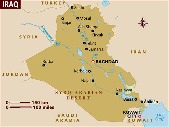 Mosul lies in Northern Iraq 200 miles from Baghdad