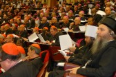 Metropolitan Hilarion of Volokolamsk speaks at General Assembly of the Synod of Bishops of the Catholic Church in Vatican