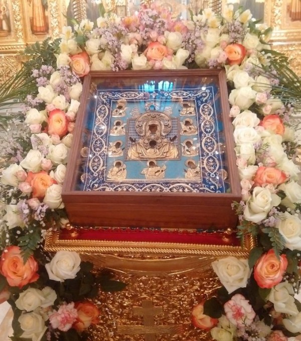 "The Kursk-Root Icon of the Mother of God ""of the Sign"" Arrives in the Ufa Diocese"