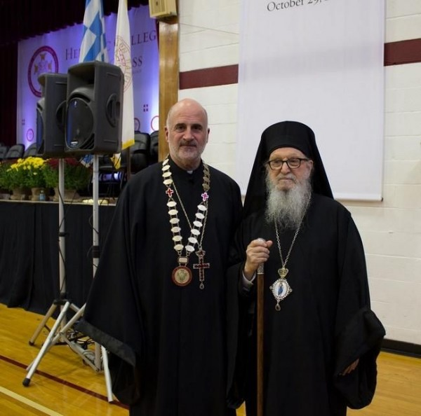 Rev. Christopher T. Metropulos installed as the 21st president of Hellenic College Holy Cross