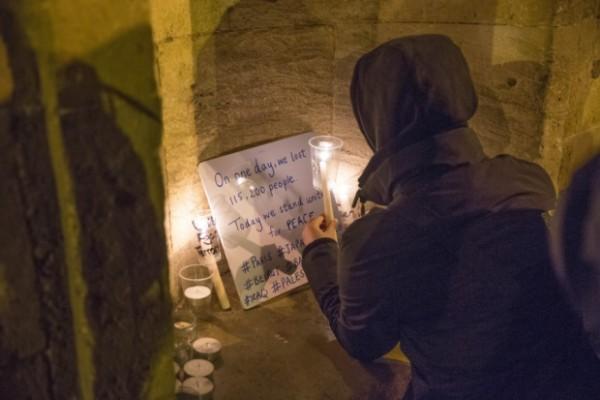 Vigil at All Saints Church, Northampton