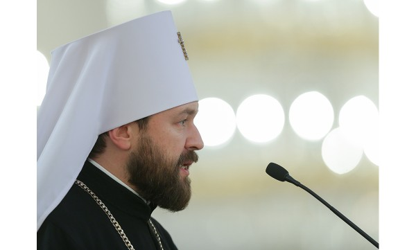 Metropolitan Hilarion speaks at joint session of Federation Council and State Duma on opposing terrorism