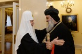 His Holiness Patriarch Kirill meets with Patriarch of the Syriac Orthodox Church