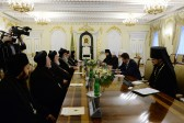 Patriarch of Syriac Orthodox Church meets with Russia's Minister of Foreign Affairs Sergey V. Lavrov
