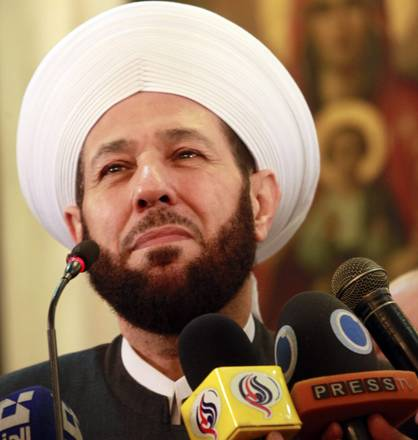 Syrian mufti thanks patriarch Kirill for 'building spirit' of Syrian people