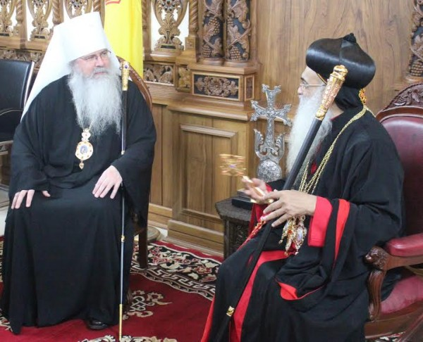 Metropolitan Tikhon, seminary Deans participate in Malankara Church celebrations
