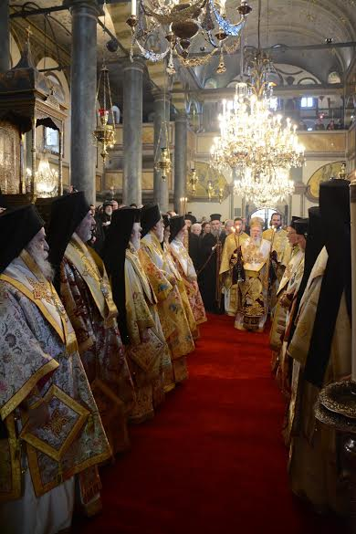 OCA represented at celebration of Feast of St. Andrew in Constantinople