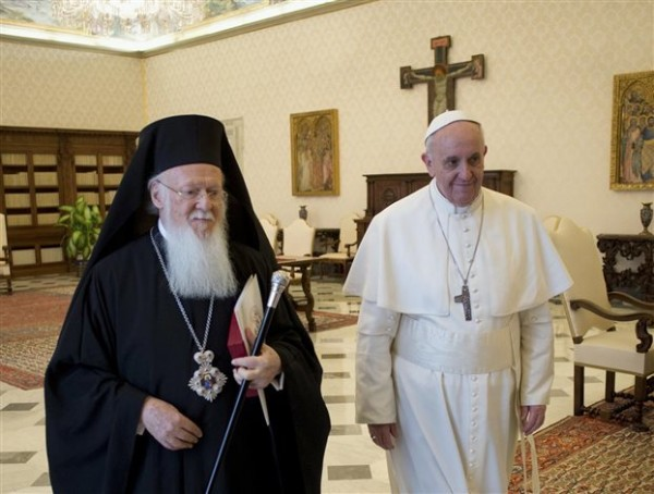 Pope Francis Sends Message to Patriarch Bartholomew for Feast of St. Andrew