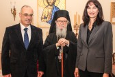 Greek Ministers Dimitris Mardas and Elena Kountoura Visit Archbishop Demetrios