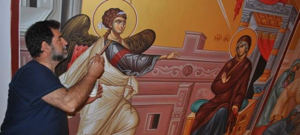 The Greek Who Painted the First Orthodox Church in the North Pole