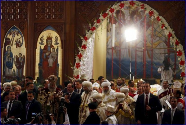 We Will Rebuild Your Torched Churches, Egyptian President Tells Christians