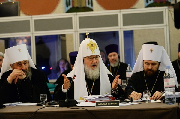 Patriarch Kirill addresses the Synaxis of Primates of local Orthodox Churches
