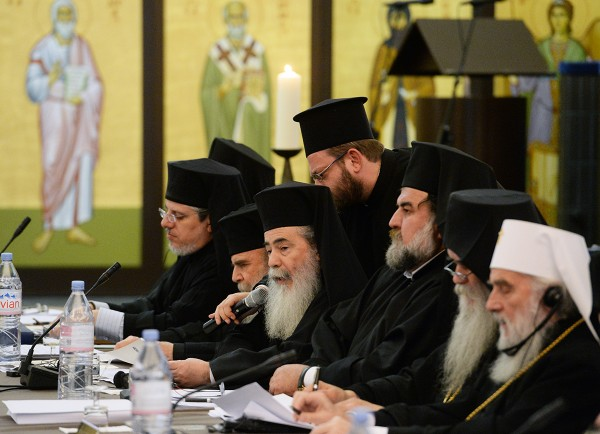 Primates of Orthodox Churches for reorganization of global economy