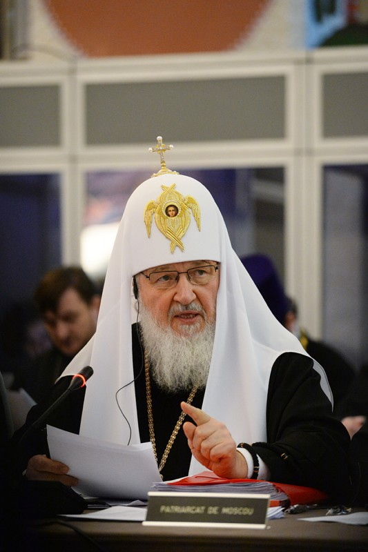 Orthodox world does not back church schism in Ukraine, only recognizes canonical Church – Patriarch Kirill