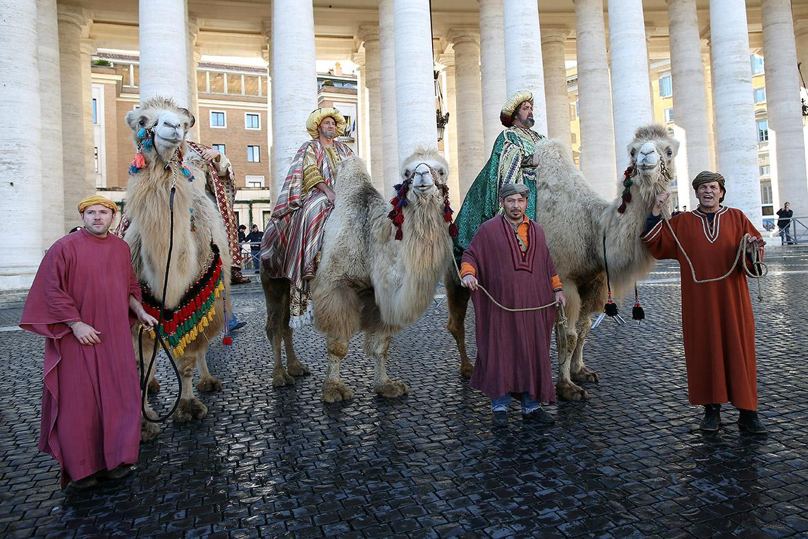 Christians around the world celebrate epiphany three