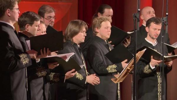 Valaam Monastery Choir sings to Russian pilots in Syria