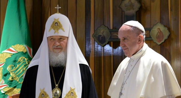 Patriarch Kirill Hopes Meeting With Pope to Reduce NATO-Russia Tensions