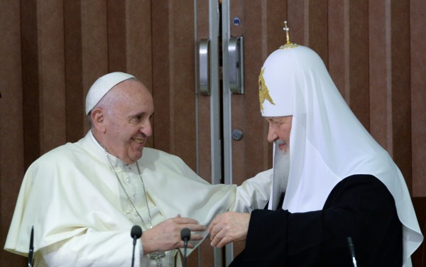 Russian Orthodox Church Expects Ties With Vatican to Develop Positively
