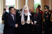 His Holiness Patriarch Kirill meets with the President of Paraguay