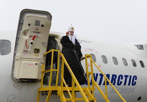 Patriarch Kirill visits Bellingshausen Russian Antarctic station