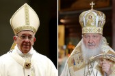 Russian Catholics place high hopes on meeting of Pope Francis and Patriarch Kirill