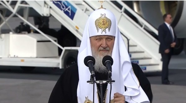Russian Patriarch arrives in Cuba to meet Pontiff, discuss Middle East crisis