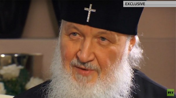 'Christians are under pressure in many developed countries' – Russian Patriarch Kirill to Ed Schultz (Video)