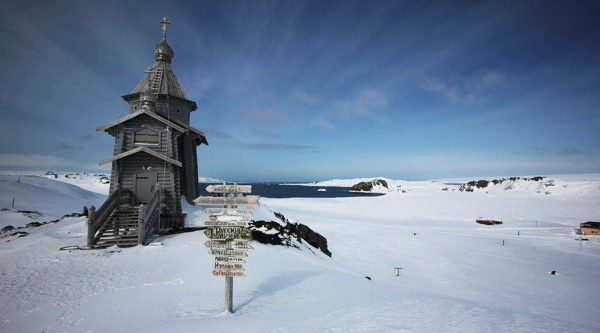 Holy Trinity Church, Antarctica © wikipedia.org