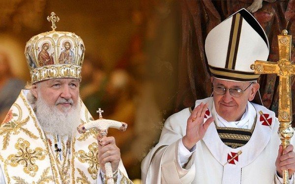 Meeting of Patriarch Kirill and Pope Francis to continue for three hours