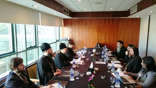 Commission for dialogue between the Russian Orthodox Church and the Coptic Church holds in Cairo its first session