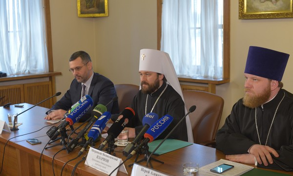 "Metropolitan Hilarion: ""It is necessary to put aside internal disagreements and unite efforts for saving Christianity """