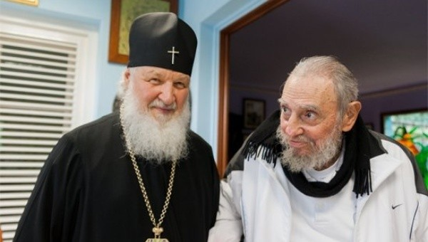 Russian Orthodox Church Leader Meets Fidel Castro in Havana