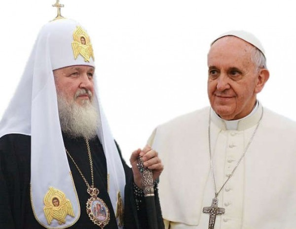 Patriarch Kirill and Pope Francis agree upon joint declaration