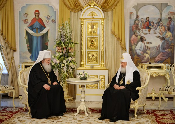 Meeting between Primates of Russian and Bulgarian Orthodox Churches takes place in Moscow